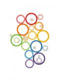 Regenboog ringen