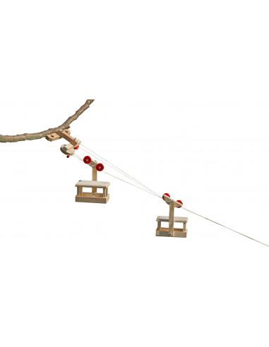 Kabelbaan bergstation