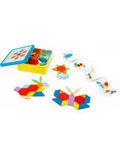 Tangram puzzelen