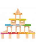 Blokken toren set