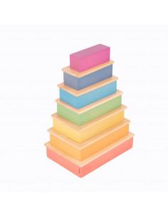 Rechthoek + plankjes