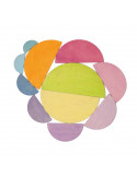 Halve cirkels pastel