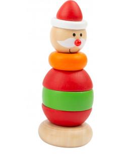 Stapeltoren kerstman