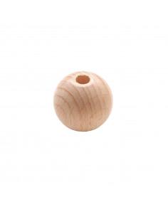Houten kraal 2,5 cm
