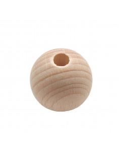 Houten kraal 3,5 cm