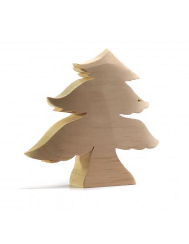 Dennenboom groot blank hout