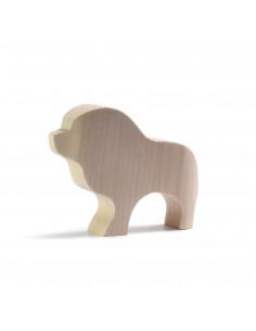 Leeuw blank hout Bumbu Toys