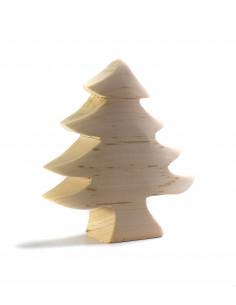 Dennenboom klein blank hout