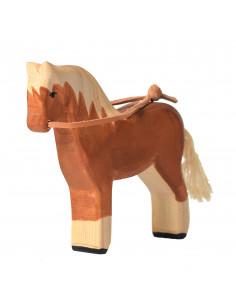 Paard met teugels Bumbu Toys