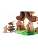 Liggend konijn Bumbu Toys