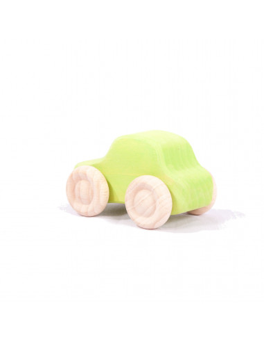 Groene sedan