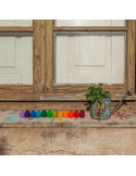 Mandala - Regenboog eieren