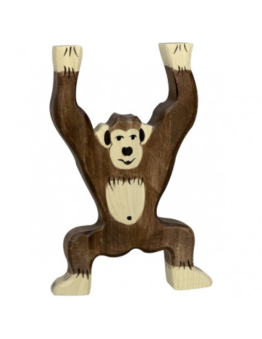 Chimpansee Holztiger