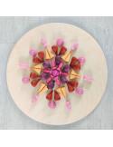 Mandala - Roze speentjes