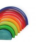 Regenboog tellen en rekenen