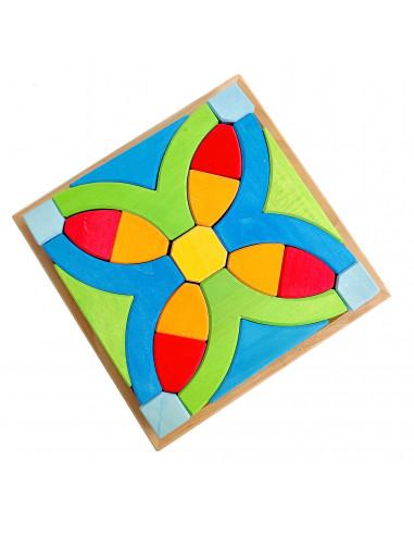 Mandala puzzelblokken