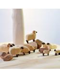 Schaap donker Bumbu Toys