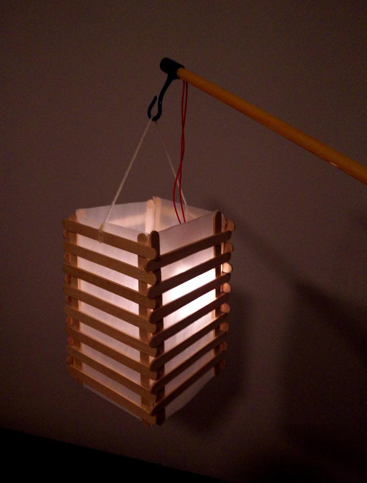 Zeer IJsstokjes lampion knutselen - Duurzaam houten speelgoed #YT32