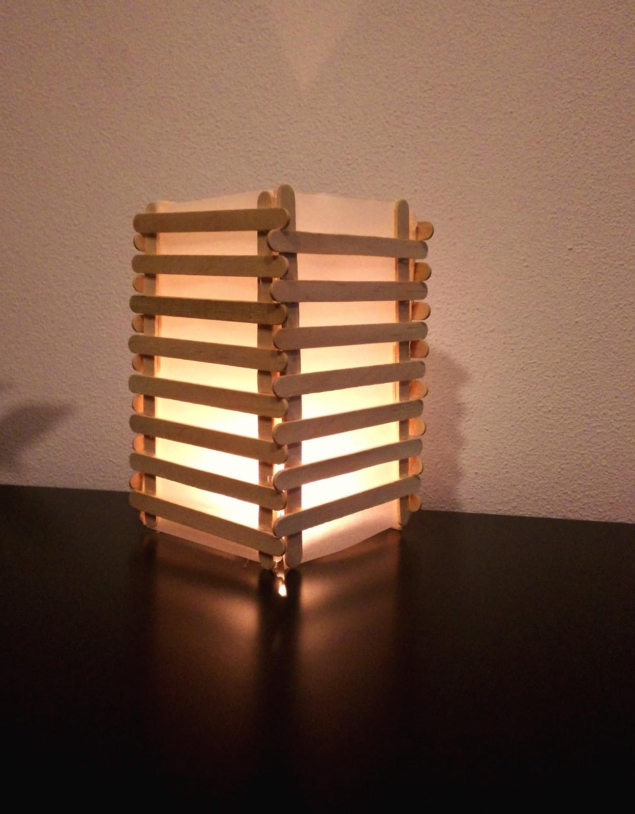 Bekend IJsstokjes lampion knutselen - Duurzaam houten speelgoed &GM36