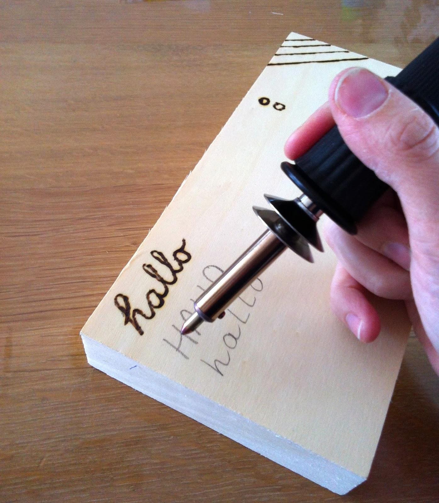 Graveren met de hobbybrander 8 tips houtspel duurzaam for Carbon papier