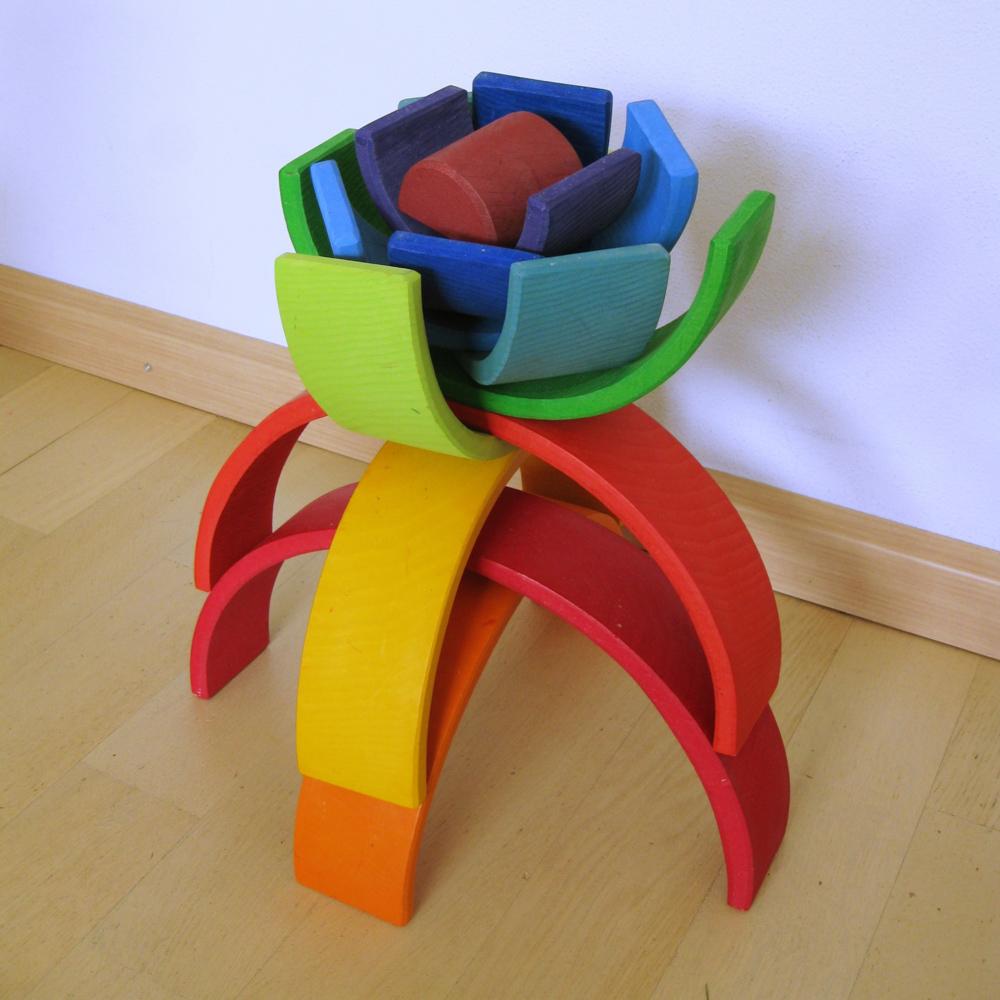 31 Houten regenboog voorbeelden - Houtspel - Duurzaam houten speelgoed