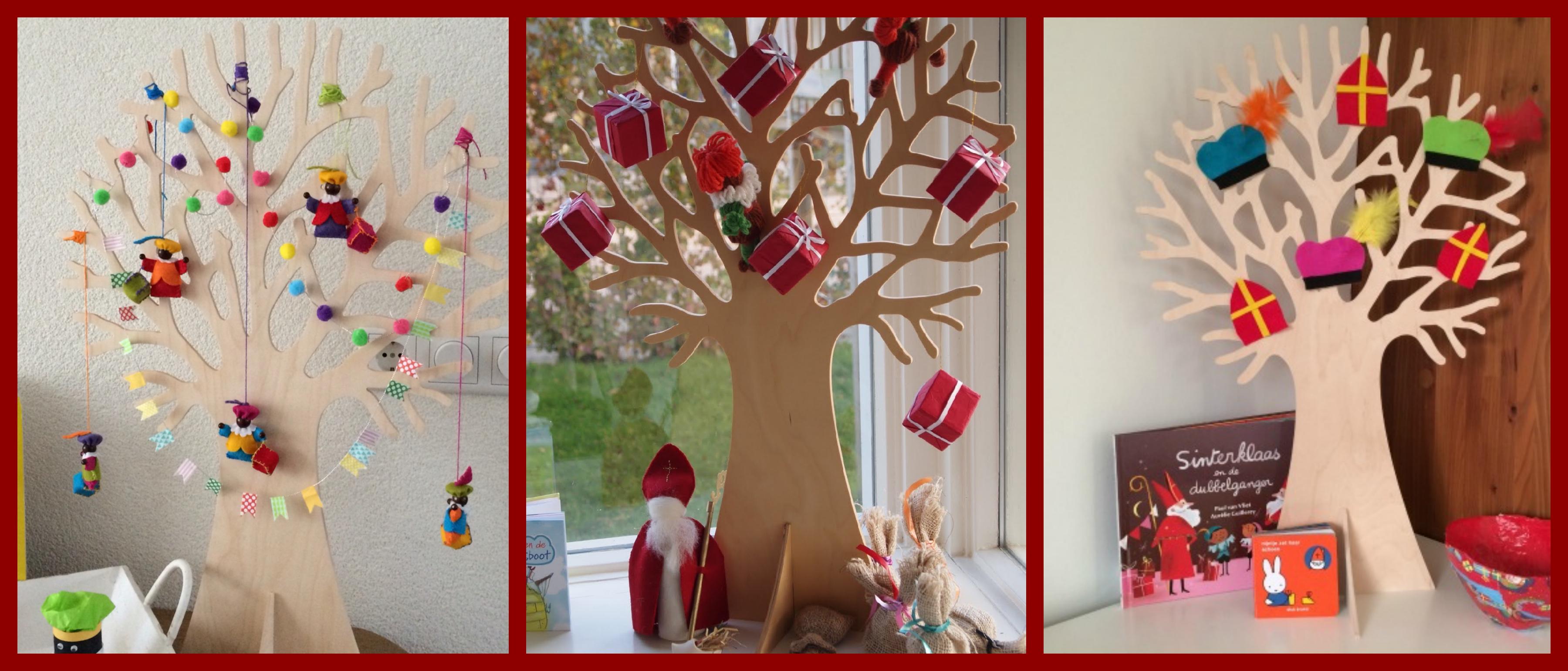Sinterklaas seizoensboom
