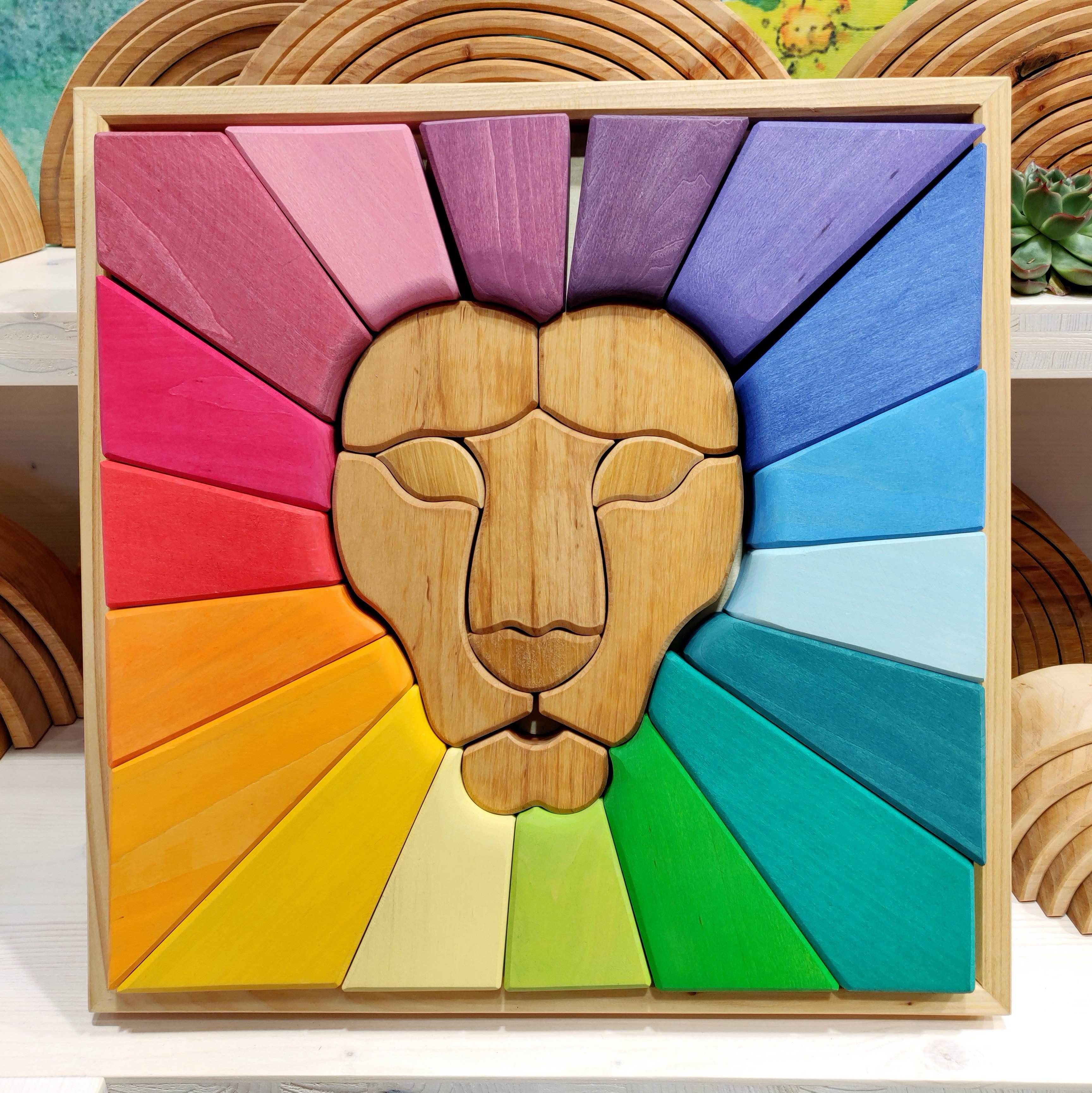 puzzel leeuwenhoofd
