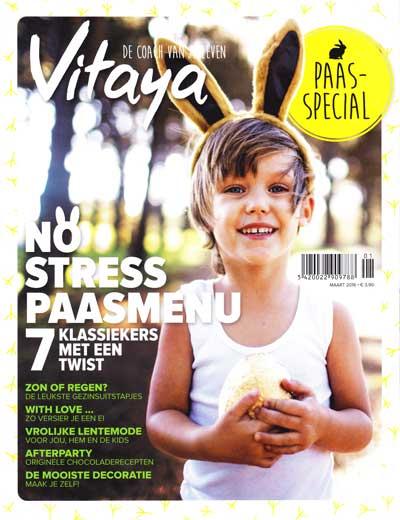 cover Vitaya magazine maart 2015