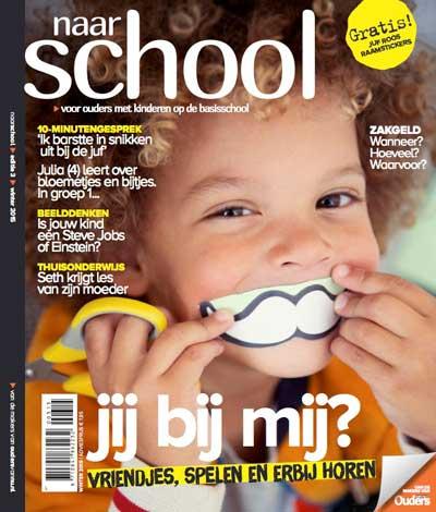 Naar school cover