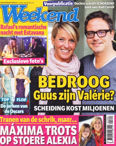 Houtspel in weekend cover