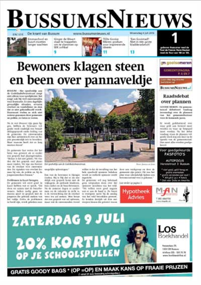 bussums nieuws cover