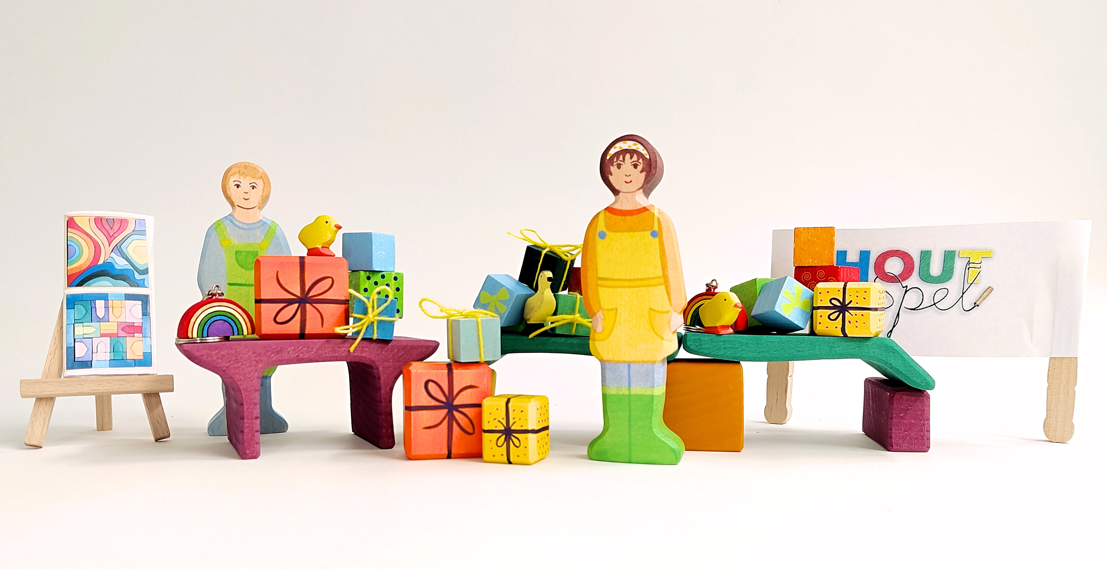 Houtspel cadeautjesmarkt 2021