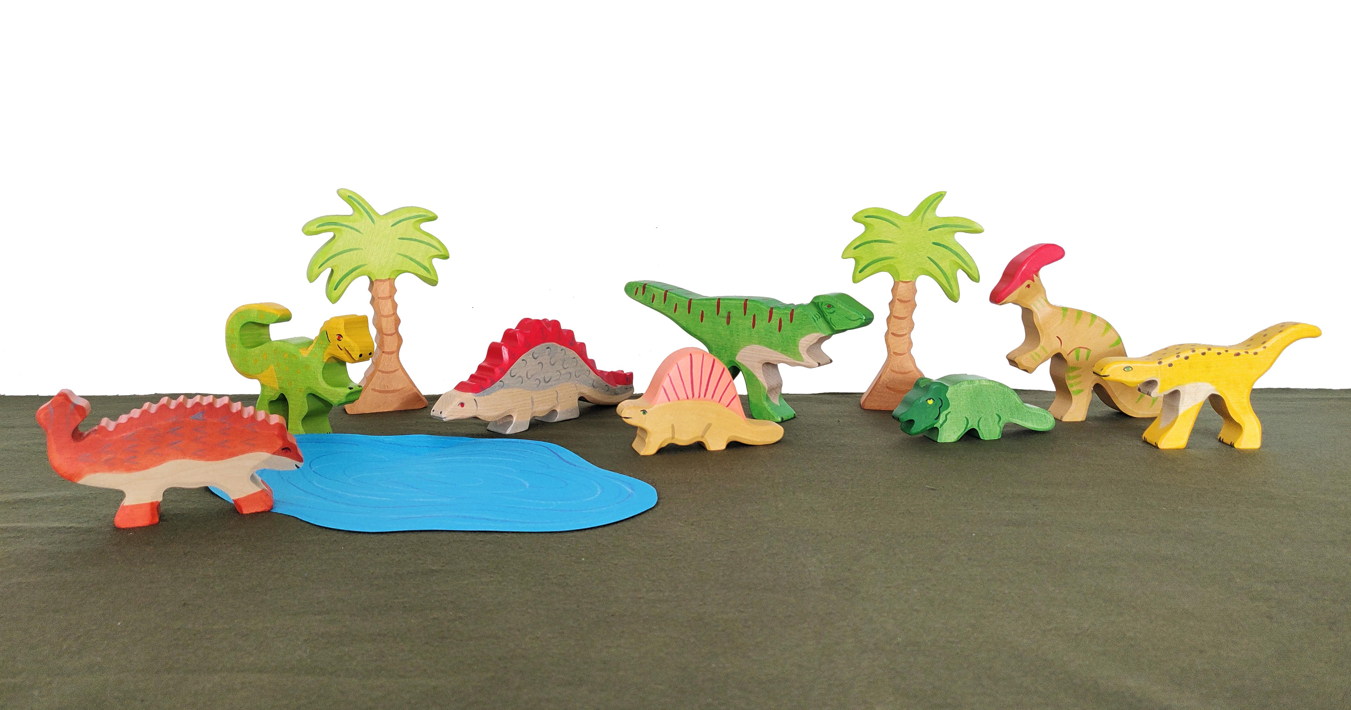 holztiger dinosaurussen