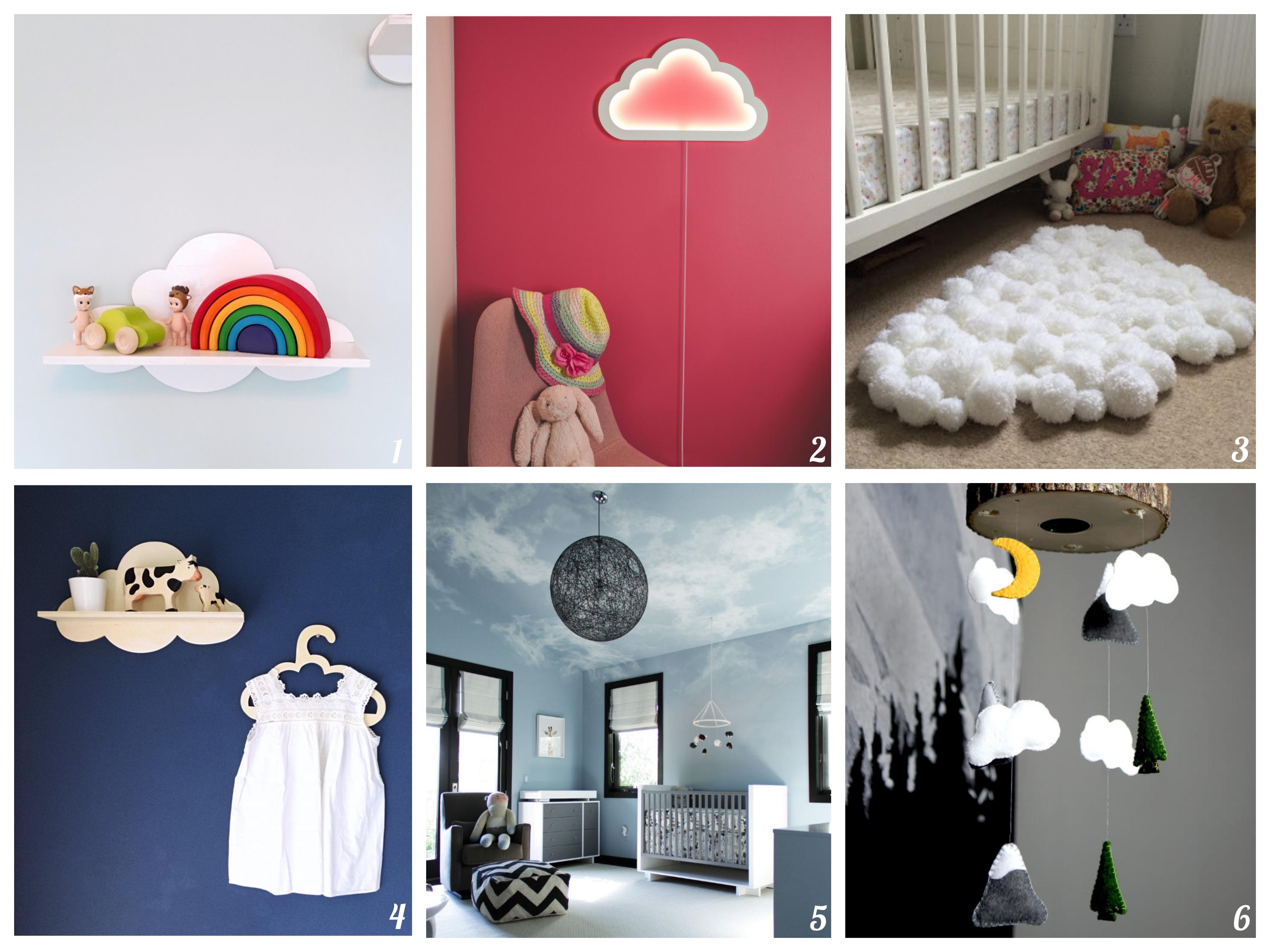 Een wolk van een kinderkamer