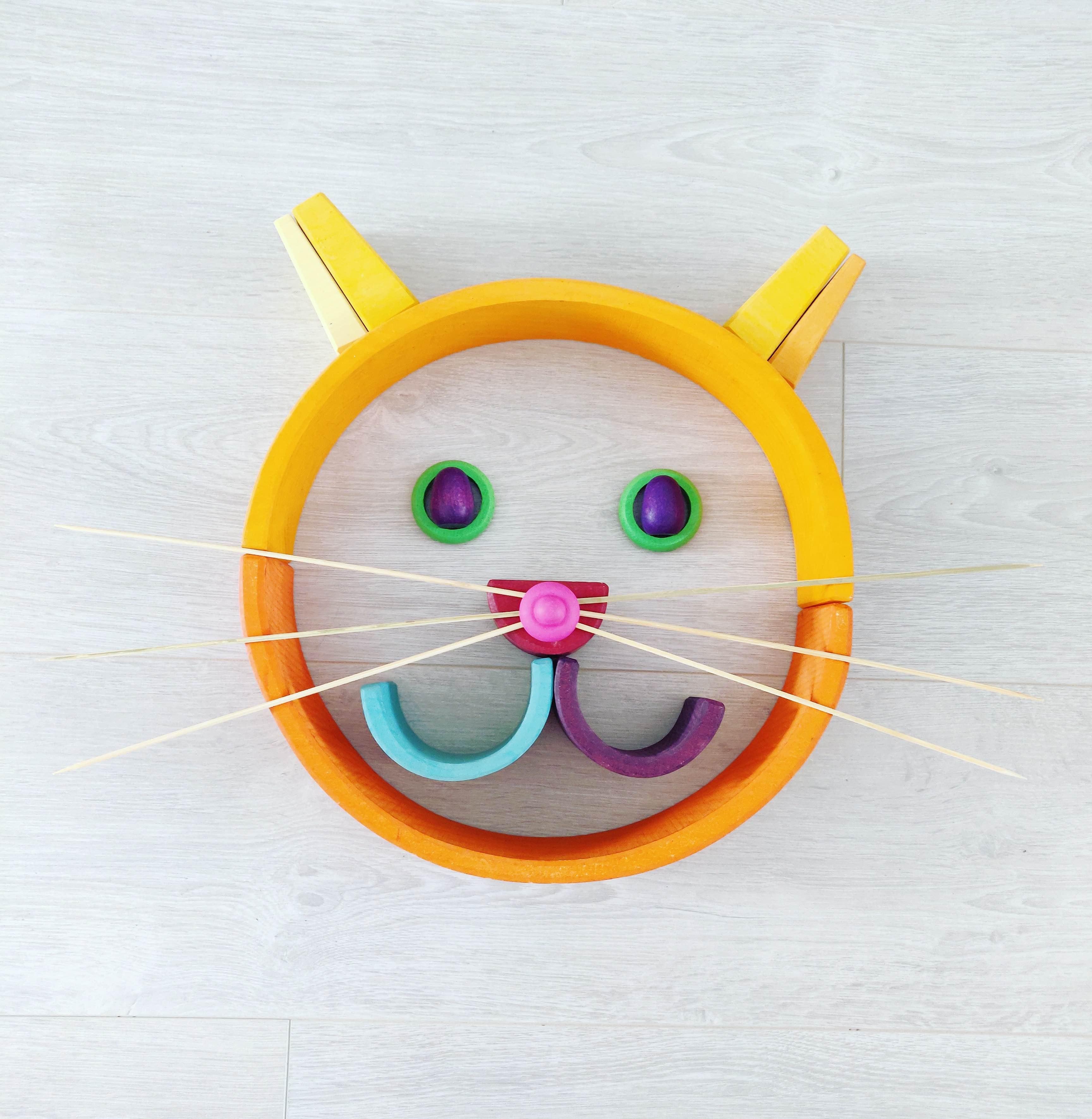 Kat gemaakt van Grimm's en Grapat