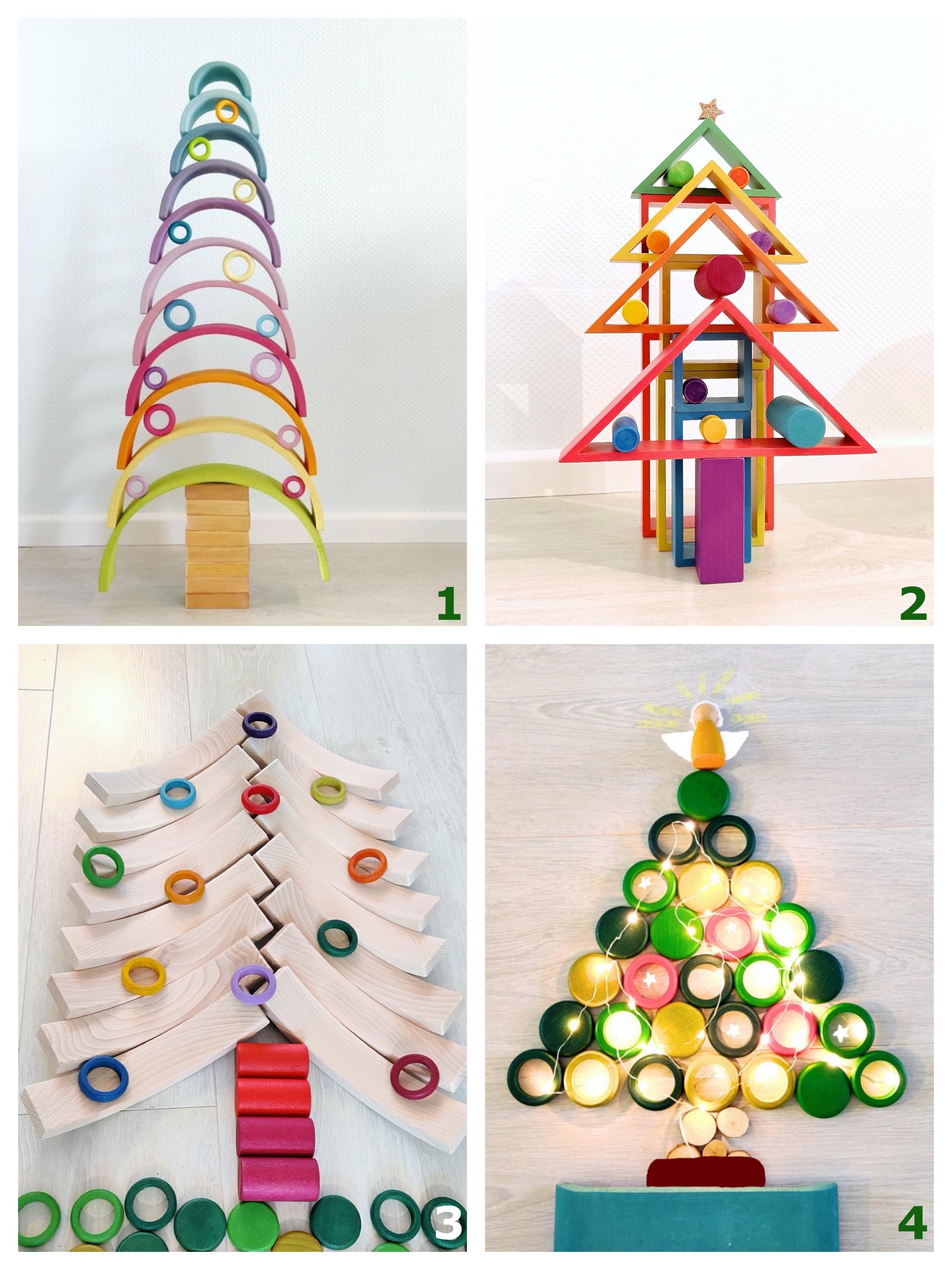 kerstbomen van speelgoed