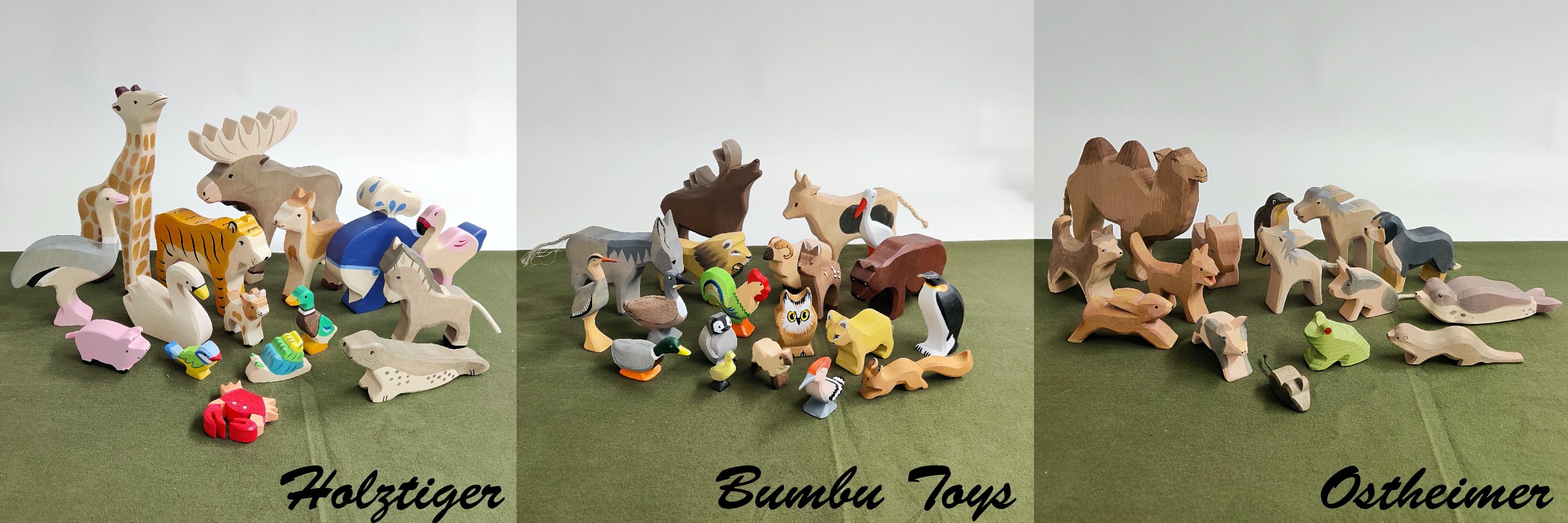 bumbu toys, ostheimer, Holztiger
