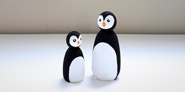 Peg doll pinguins